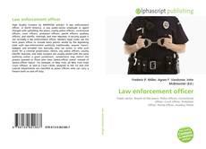 Borítókép a  Law enforcement officer - hoz