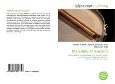 Copertina di Marching Percussion