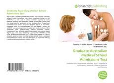 Bookcover of Graduate Australian Medical School Admissions Test
