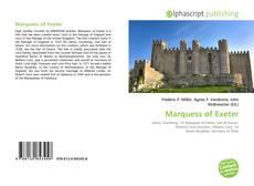 Capa do livro de Marquess of Exeter