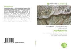 Обложка Abydosaurus