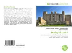 Buchcover von Duchy of Lucca