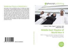 Buchcover von Middle East Theatre of World War II