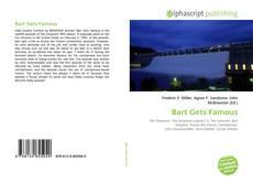 Portada del libro de Bart Gets Famous
