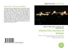Buchcover von Infanta Pilar, Duchess of Badajoz