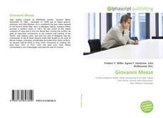 Bookcover of Giovanni Messe