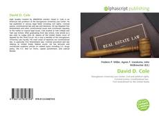 Bookcover of David D. Cole