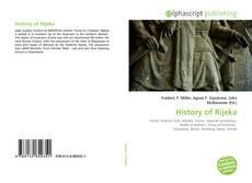 History of Rijeka的封面