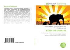 Portada del libro de Babar the Elephant