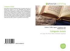 Couverture de Langues Juives