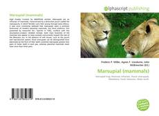 Bookcover of Marsupial (mammals)
