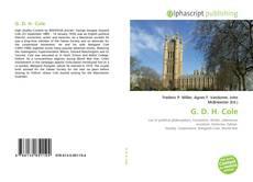Buchcover von G. D. H. Cole