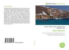 Bookcover of Grec Ancien