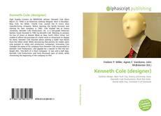 Couverture de Kenneth Cole (designer)