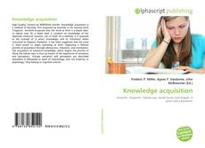 Bookcover of Knowledge acquisition