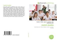 Bookcover of Jewish studies