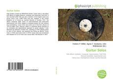 Couverture de Guitar Solos