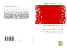 Bookcover of Emmanuel Chabrier