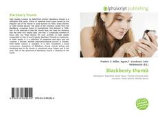 Copertina di Blackberry thumb
