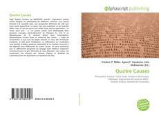 Couverture de Quatre Causes
