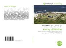 Borítókép a  History of Wiltshire - hoz