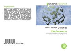 Buchcover von Biogéographie