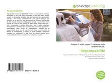 Bookcover of Responsabilité