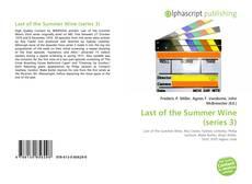 Buchcover von Last of the Summer Wine (series 3)