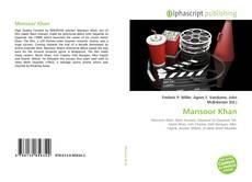 Portada del libro de Mansoor Khan