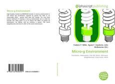 Copertina di Micro-g Environment
