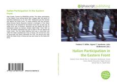 Bookcover of Italian Participation in the Eastern Front