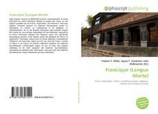 Couverture de Francique (Langue Morte)