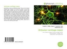 Buchcover von Articular cartilage repair