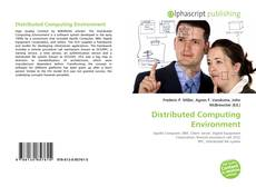 Bookcover of Distributed Computing Environment