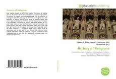 Bookcover of History of Religions