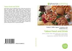 Bookcover of Taboo Food and Drink