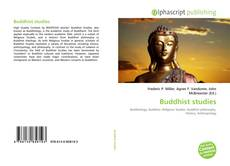 Bookcover of Buddhist studies