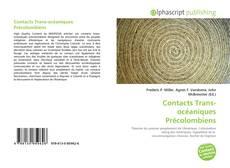 Buchcover von Contacts Trans-océaniques Précolombiens