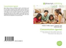 Bookcover of Concentration (game)
