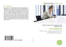 Bookcover of Eric Williams