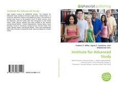 Buchcover von Institute for Advanced Study