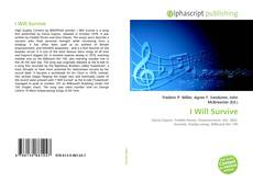 Bookcover of I Will Survive