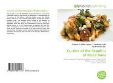 Copertina di Cuisine of the Republic of Macedonia