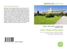 Bookcover of John, Duke of Durazzo