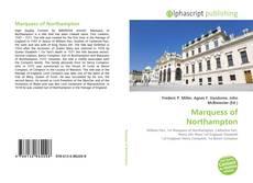 Couverture de Marquess of Northampton