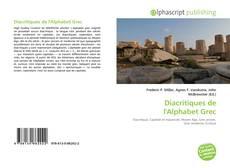 Bookcover of Diacritiques de l'Alphabet Grec