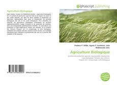 Couverture de Agriculture Biologique