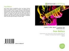 Fear Before的封面