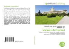 Portada del libro de Marquess Townshend