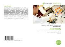 Обложка Jean Decety